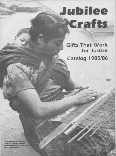 Picture of Jubilee Craft Catalog from 1985-86