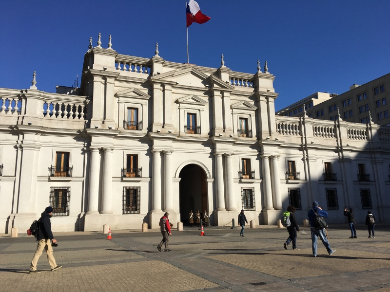 photo of la moneda