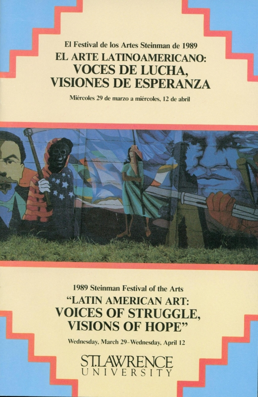 The 1989 Steinman Festival Pamphlet