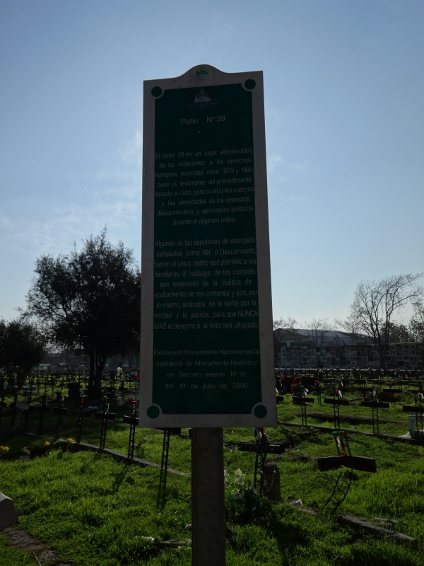 sign in grave site