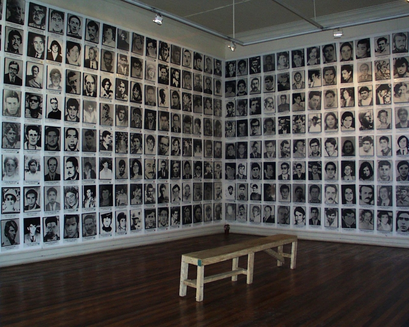 Pictures of persons missing after the 1973 Chilean coup