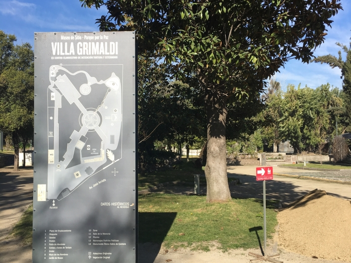 map of villa grimaldi