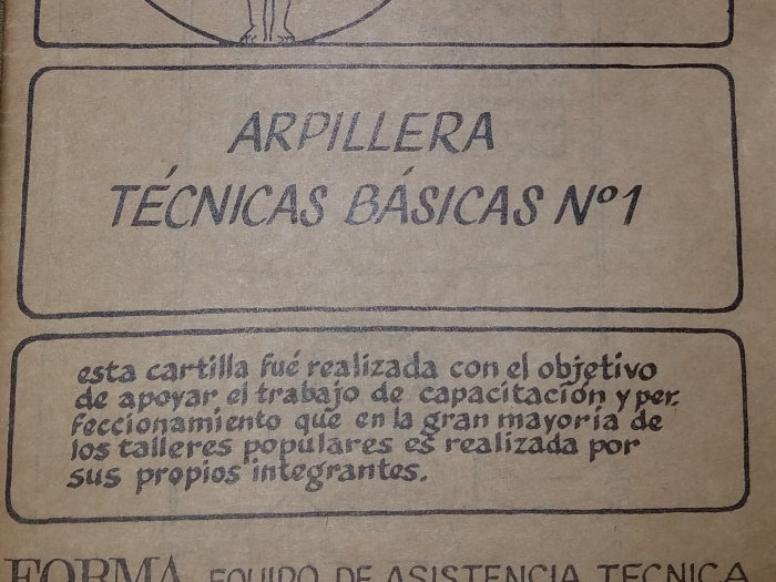 Basic Arpillera Technique cover
